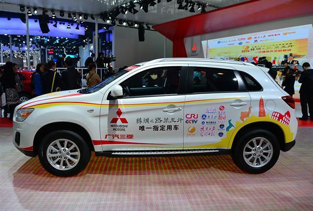 劲炫ASX丝绸之路纪念版上市 售16.98万