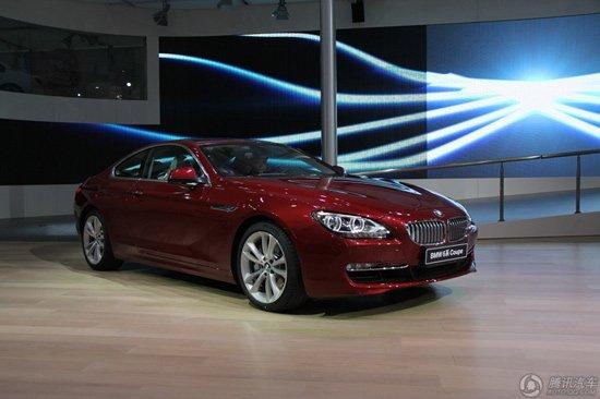 宝马6系Coupe车展上市 售112.8万元起