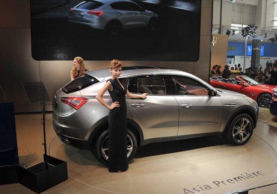 玛莎拉蒂Kubang概念SUV北京车展亚洲首发