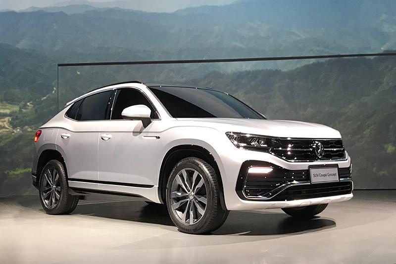 SUV概念版/途昂X领衔 大众在华发布5款全新SUV