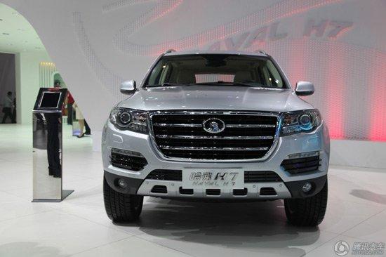 近日,有相关消息透露,在本届北京车展上正式发布的长城H7(之前名为哈弗SC60)或将在2013年年底时正式上市并销售,预计售价为20万元
