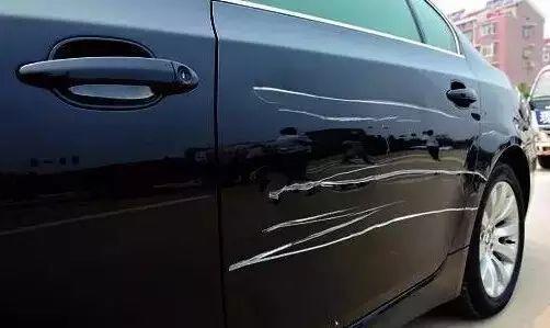 车身满是划痕 为啥老司机不修 这样才是聪明人