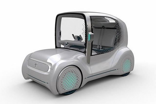 专注小型化设计 丰田将推四款商用观点车