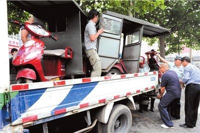 北京启动脉冲行动 黑车被查一律罚款2万