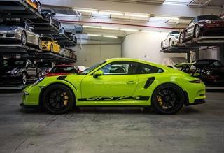 骚绿惹眼 保时捷定制特别版911 GT3 RS