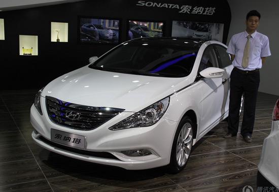 [腾讯行情]上海 第八代索纳塔现金降4万元