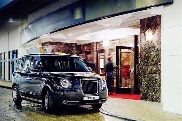 伦敦出租车新一代TX5谍照曝光 搭混动系统