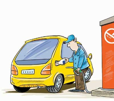 混合加油过后要进行油路清洗