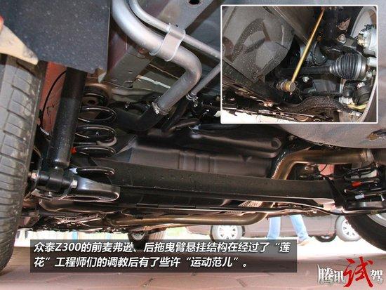 不可小视 腾讯试驾众泰Z300 1.6L AT