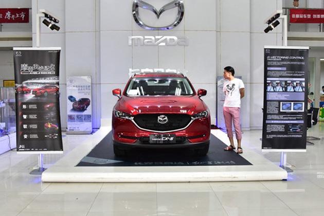 日系SUV新王者 马自达全新CX-5展车到店