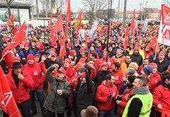 奥迪和宝马工人举行罢工 要求缩短工作时长