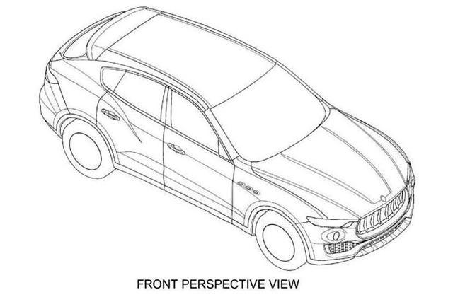 玛莎拉蒂suv北美车展首发 外观调整较大