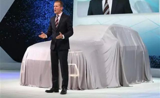 制定产销份额超40%目标 大众品牌3年内推出19款SUV