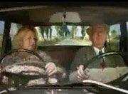 搞笑老太太汽车广告