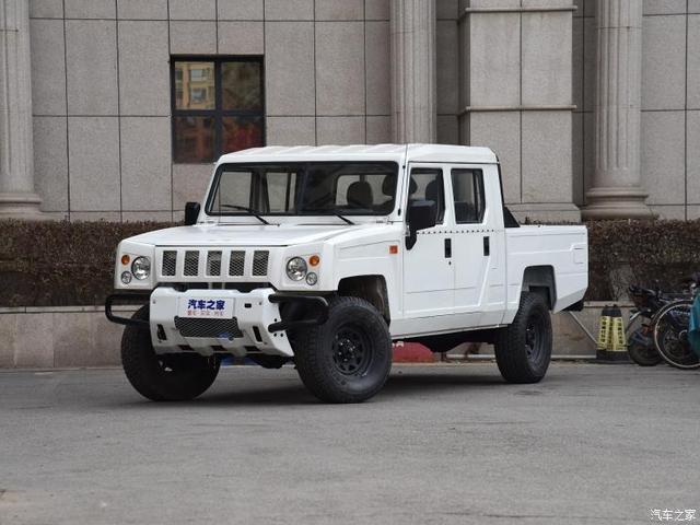 北京汽车创造厂  壮士皮卡 2019款 2.4T汽油两驱连体双排3035轴距BJ1034MKD42国VI