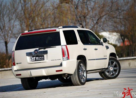 腾讯评测凯迪拉克凯雷德Hybrid 拒绝高油耗