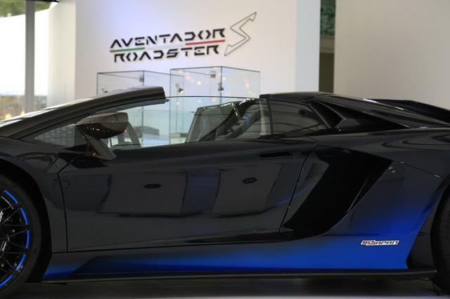 3秒破百 兰博基尼Aventador S敞篷版首发