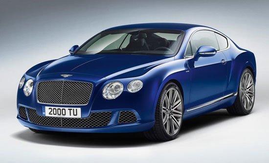 [新车发布]宾利改款欧陆GT Speed正式发布
