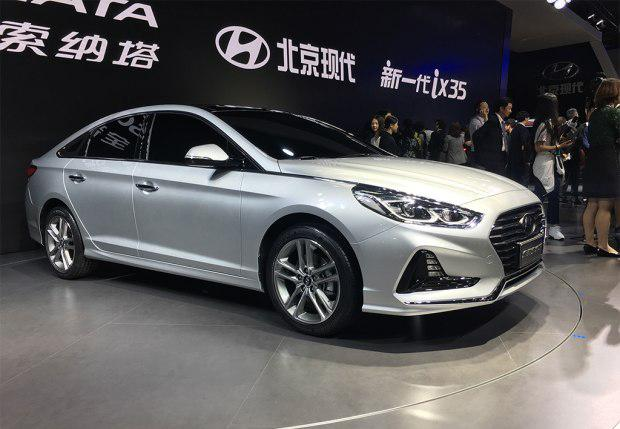 新款索纳塔九上海车展正式发布