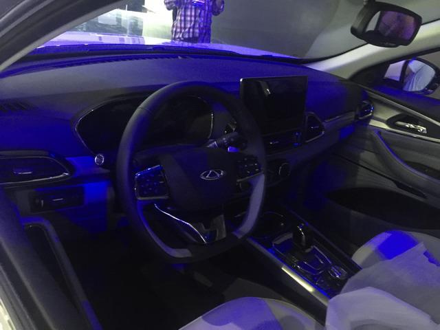 奇瑞EXEED TX展台亮相  全新高端SUV