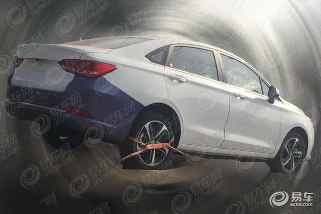 2018年投产 北汽绅宝全新D50纯电版谍照
