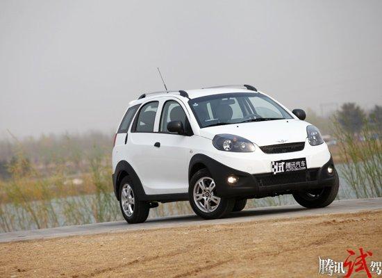 腾讯评测2012款瑞麒X1 动力提升是亮点