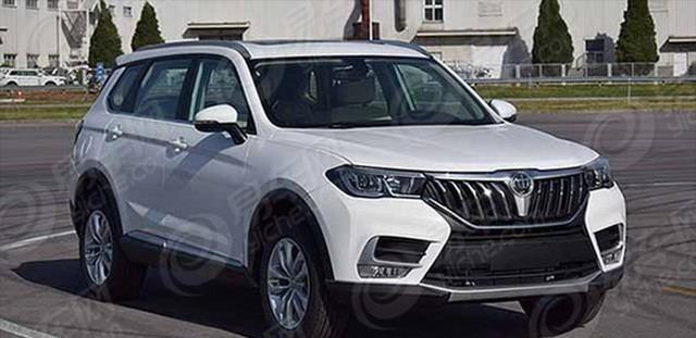 全新中型SUV 中华V7或北京车展正式亮相