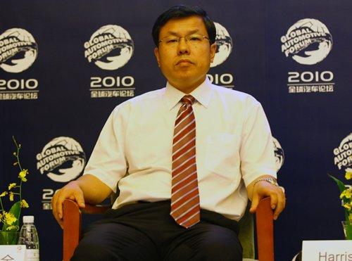 赵福全:吉利只作为企业LOGO