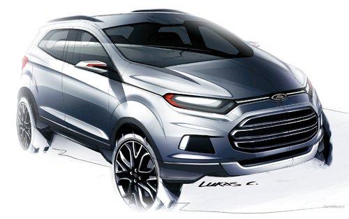 福特小排量SUV车型 ECOSPORT 以小博大高清图片