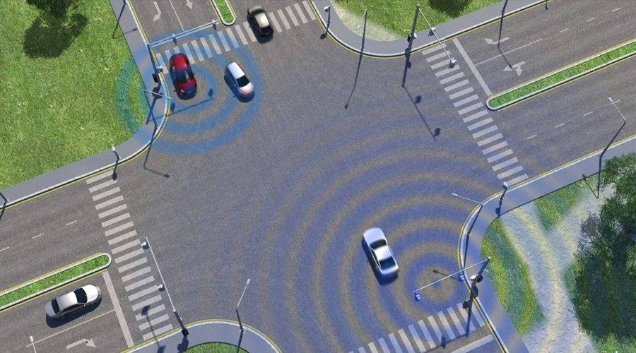 科技第六感:一路绿灯可还行 福特V2V技术够机灵