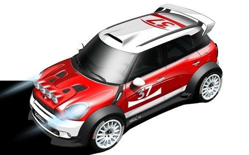 Countryman出战 MINI将参加明年WRC赛事