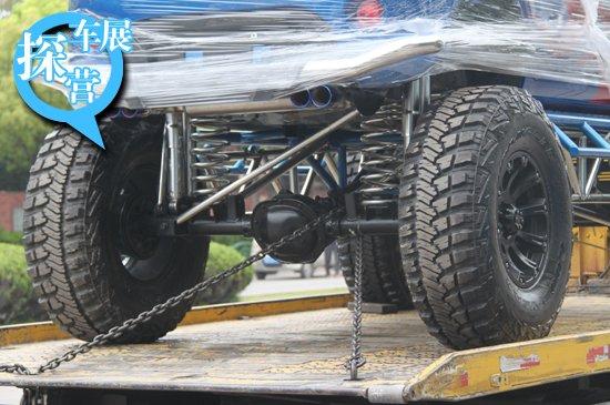 [上海车展探营] 吉利熊猫两款改装车曝光