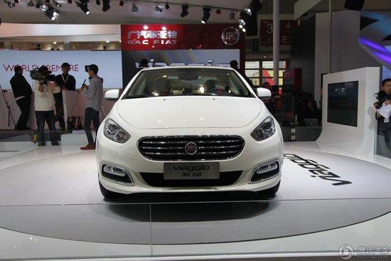 广汽菲亚特菲翔车展发布 或第三季度上市