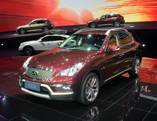 东风英菲尼迪QX50外观-上半年国内重点换代新车 自主品牌集体哑火高清图片