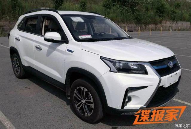 家族式气势派头 北汽幻速S5-EV申报图曝光