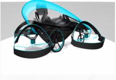 这就是飞车的未来? 丰田将展示空中运输原型机