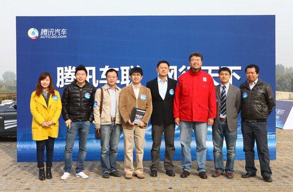 中国首届车联网产品评测活动现场