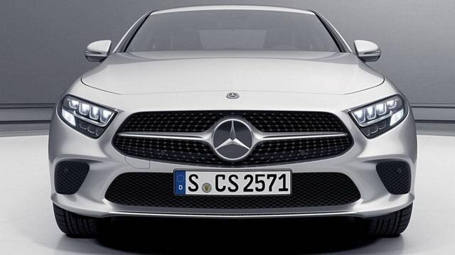 个性豪华轿跑 奔驰全新CLS450车型官图