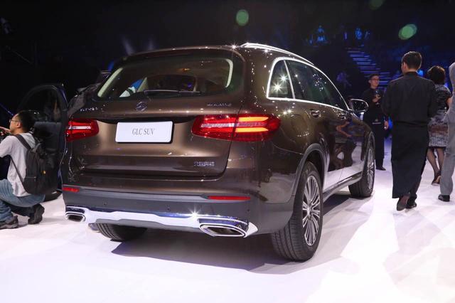 北京奔驰GLC级正式上市 售39.6万-57.9万