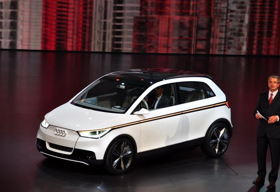 新一代奥迪A2概念车正式揭幕 外形设计灵动
