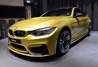 Austin Yellow 迪拜大亨专享BMW M4限量版