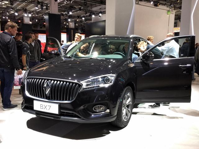 德国宝沃BX7 TS限量版 欧洲市场接受预定