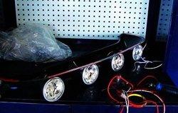 哈弗M2顶灯安装作业