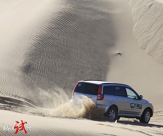 沙漠征服者 试长城哈弗H5欧风2.0T柴油版
