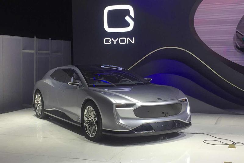 车展探营:定位高端豪华 GYON全新中大型车曝光
