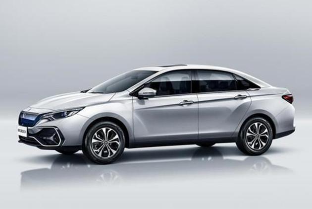 启辰三款EV车型官图发布 上海车展亮相