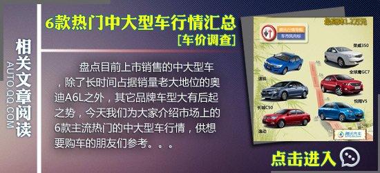[车价调查]6款日系中级车行情 最高降5万