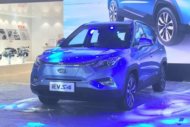 车展探营:续航420km 江淮iEVS4将于车展上市