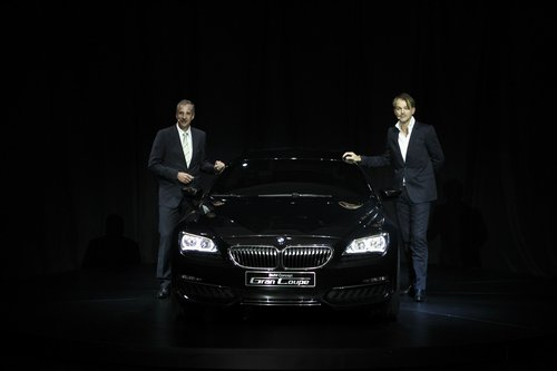 BMW设计之夜在京举行 4门轿跑概念车发布