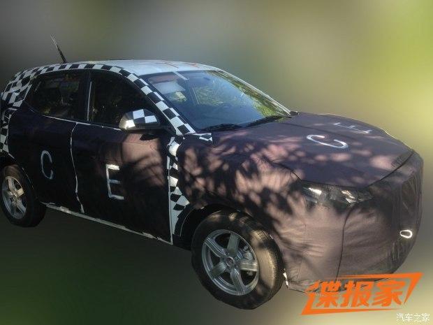 或2017年推出 MG全新小型SUV谍照曝光